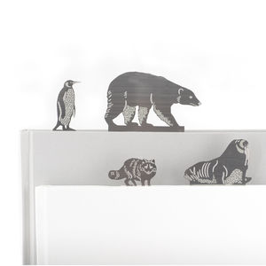 Arctic Animal Bookmarks - what's new