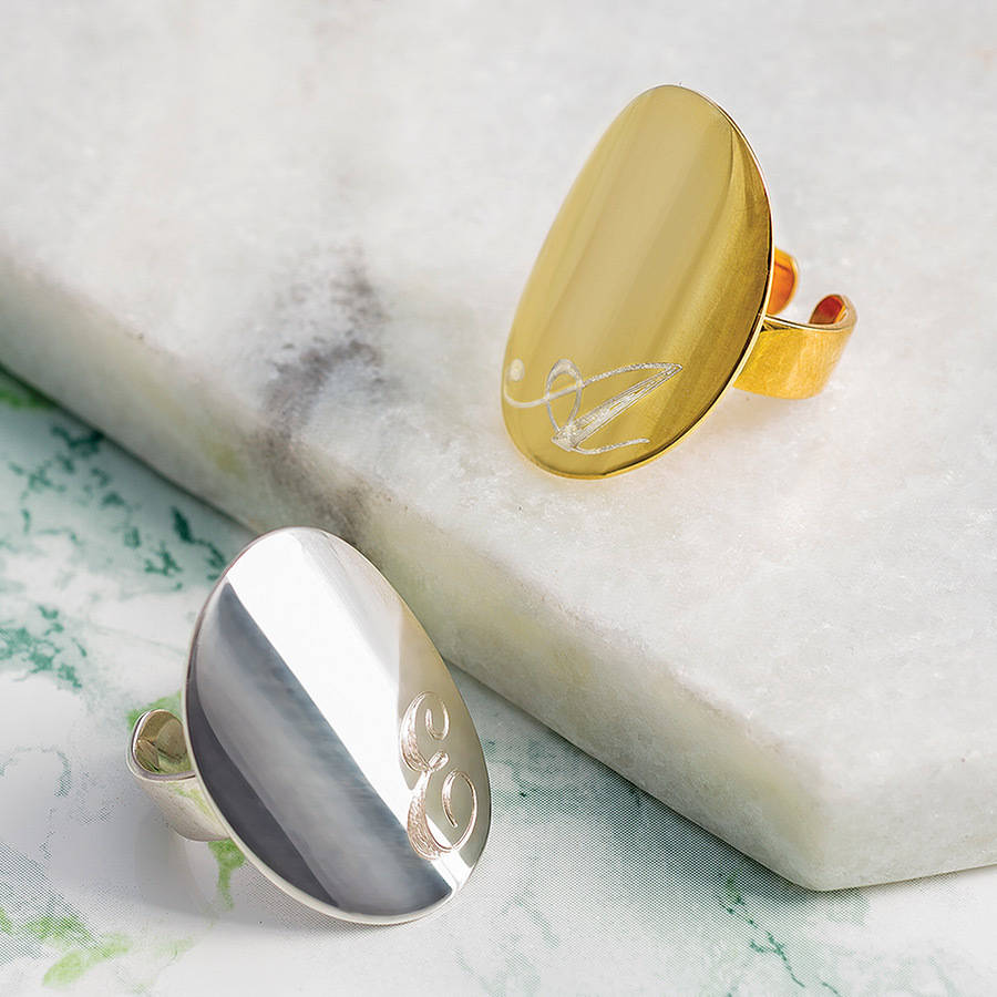 Hand Made Silver Signet Ring