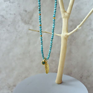 'Heal And Protect' Turquoise Necklace