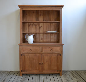 Chunky Solid Wood Dresser - furniture