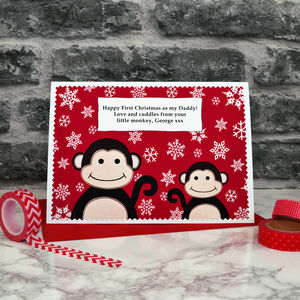 'First Christmas As My Mummy / Daddy' Christmas Card