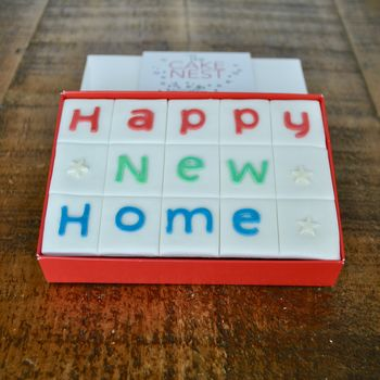 Happy New Home Letterbox Cake