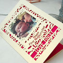 First Mother's Day Keepsake Photo Card