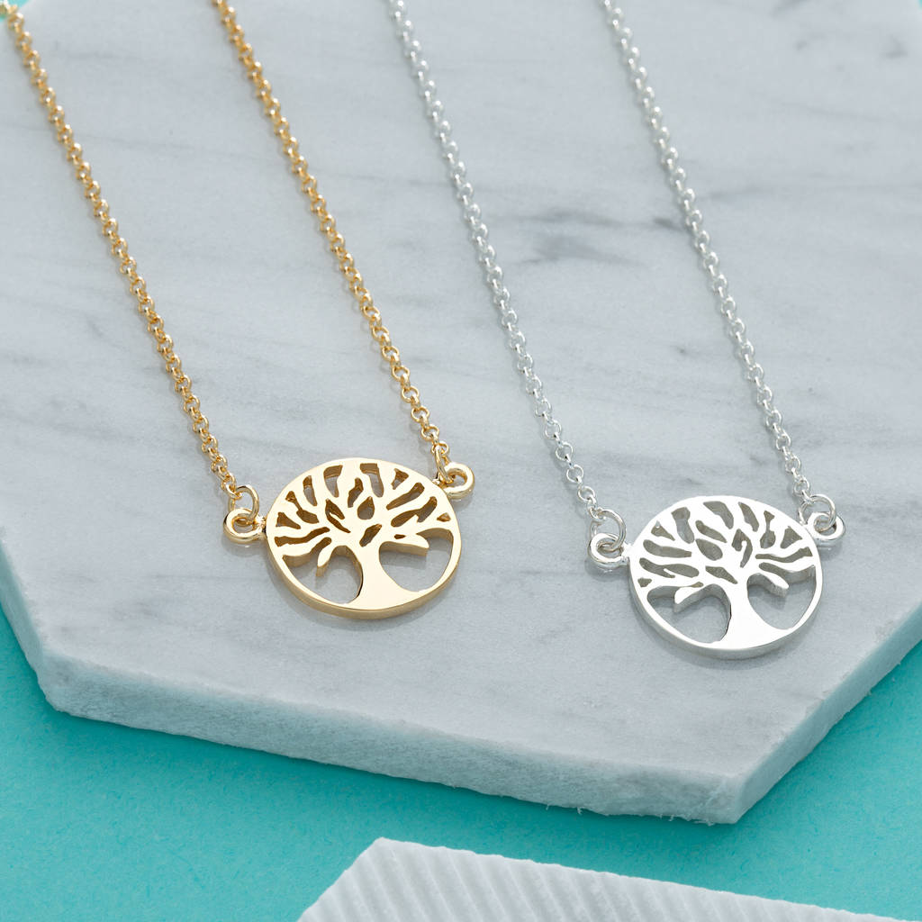 pendant image gold amp a pendants under silver women tree jewellery rabbit necklaces martick