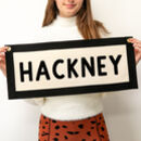 Personalised Canvas Word Wall Hanging