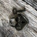 Personalised Pet Name Heart Lovelock Dog Tag