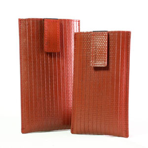 Reclaimed Fire Hose iPhone Case - gadgets & cases