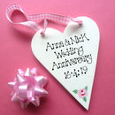Rose Motif Ribbon Hanger