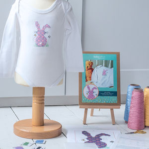 Bunny Cross Stitch Kit For Clothing - what's new