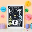 Book Of Potions Print