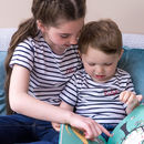 Personalised Embroidered Breton Children's T Shirt