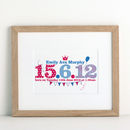 Children's Special Date Print