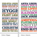 Likes Poster - Hygge - Allsorts