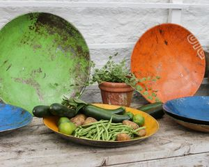 Recycled Metal Bowl - kitchen