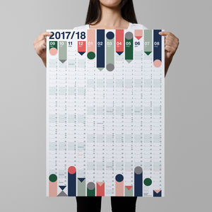 *New Lower Price* Year Planner 2017/18 : Academic
