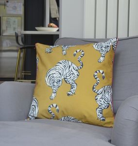 'The Dancing Tiger' Cushion