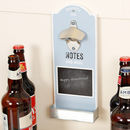 Chalkboard Wall Mounted Bottle Opener
