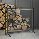 Jutland Firescreen In Steel