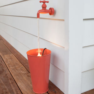 Coral Floating Tap LED Water Feature
