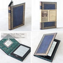 Create a Book look kindle case Royal Blue