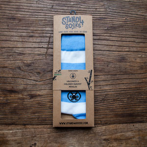 Baby Blue Child Health Bamboo Sock