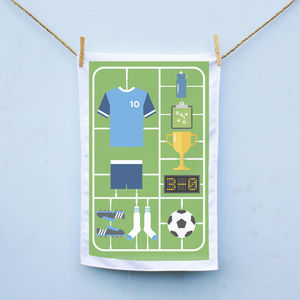 Football Airfix Tea Towel