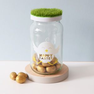 Personalised Easter Treat Jar - children's easter