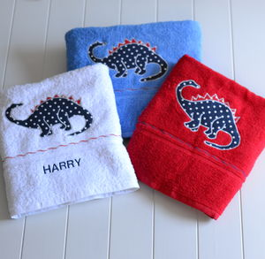 Dinosaur Towel Set - bathroom