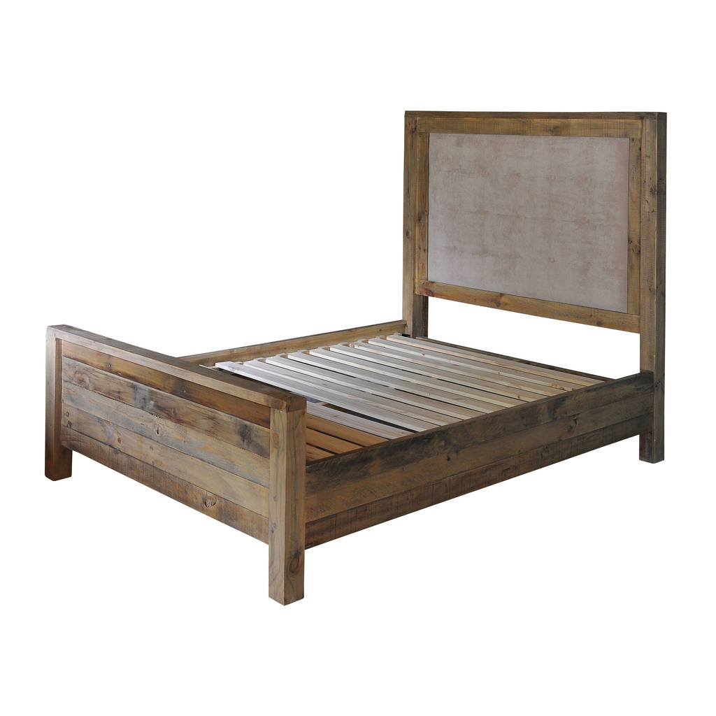 Plank 5ft bedframe by the orchard furniture for Quilted bed frame