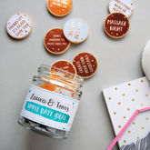 Personalised Couple's Date Ideas Jar - valentine's day