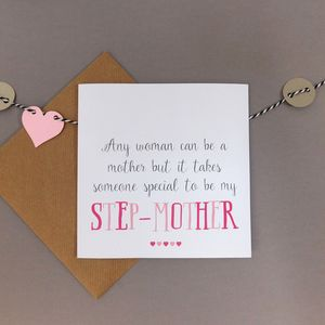 Special Step Mother Card