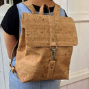 Natural Cork Backpack Medium