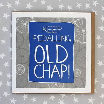 Cyling Theme Birthday Card
