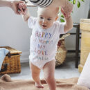 'Happy First Mummy's Day' Mother's Day Babygrow
