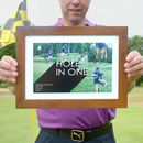Personalised Golf Photo Collage Print