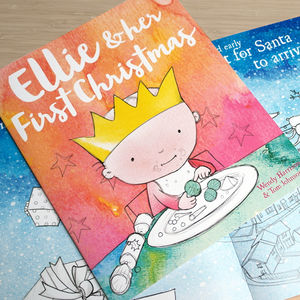 Personalised First Christmas Storybook - baby's first christmas