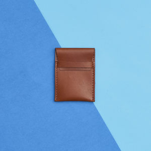 Leather Credit Card Pouch - gifts for him