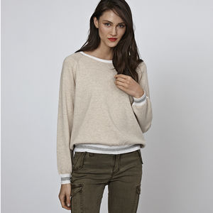 Ronnie Cashmere Jumper - women's fashion