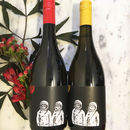 'Cats In Space' French Red And White Wine Duo Gift Set