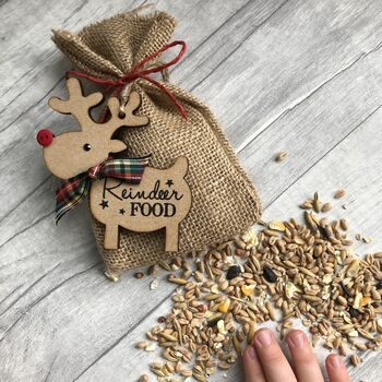 Personalised Magic Christmas Reindeer Food Pouch