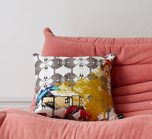Colours Of The Sun Cushion - patterned cushions