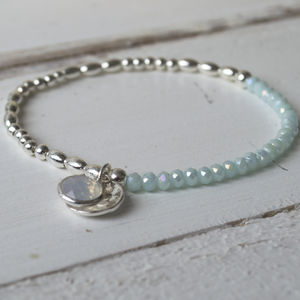 Something Blue Wedding Bracelet - what's new