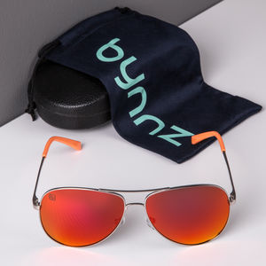 'Elba' Aviator Sunglasses - men's accessories