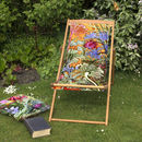 Tropical Sunshine Garden And Beach Deckchair