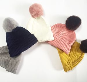 Pom Beanie: Design Your Own Choose Knit And Pom Colour - hats, scarves & gloves