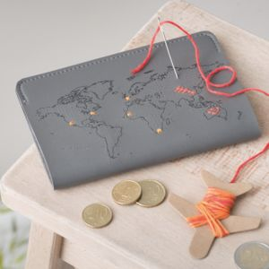 Stitch Your Own Passport Cover - 50th birthday gifts