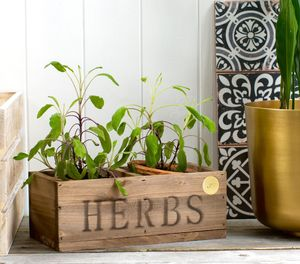 Personalised Herb Planter - gifts for her