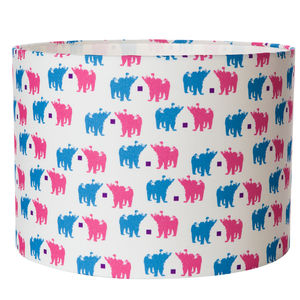 Grizzly Bears Handmade Childrens Lampshade