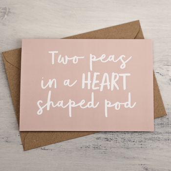 Two Peas Card