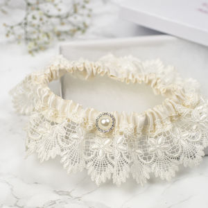 Vintage Inspired Garter - wedding fashion